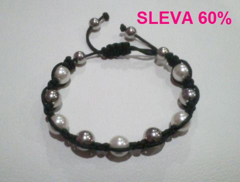 Náramek Shamballa Pearls C128