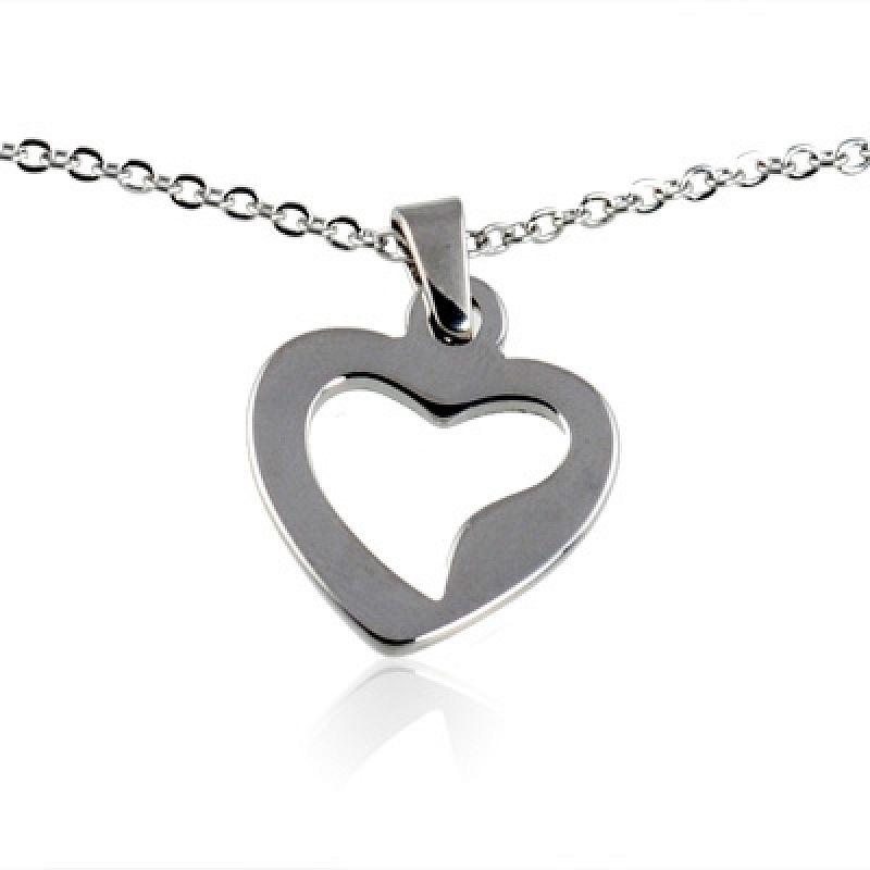 Řetízek se srdíčkem Cute Heart AE1129 chirurgická ocel