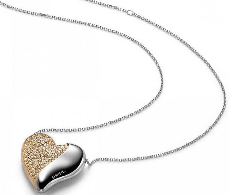 Náhrdelník BREIL Heartbreaker TJ1550 chirurgická ocel