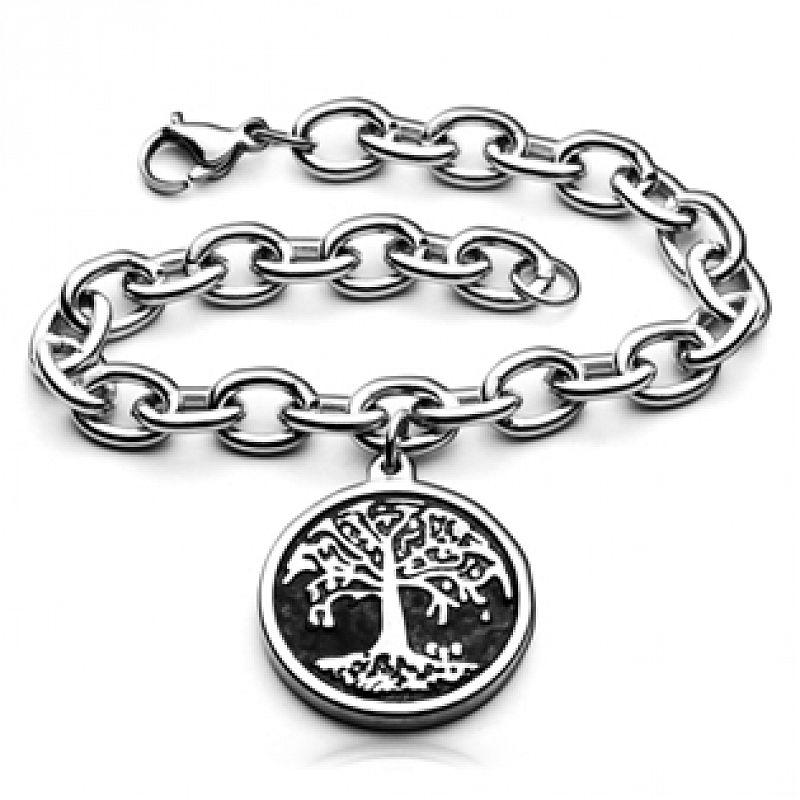 Náramek dámský Strom života AA1014 chirurgická ocel