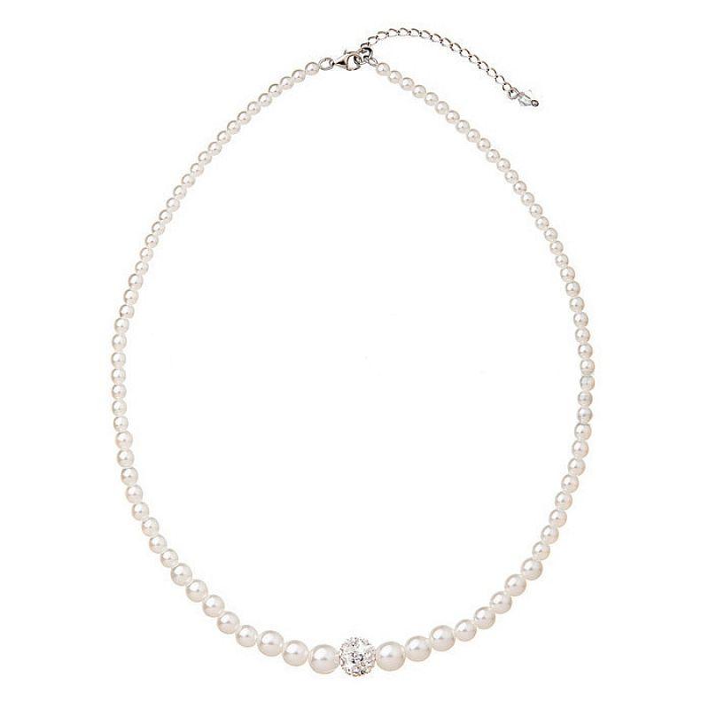 Perlový náhrdelník Swarovski Elements AG4001