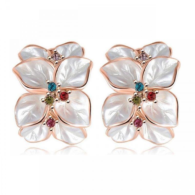 Náušnice Jasmine B0099 Zirconia Luxury