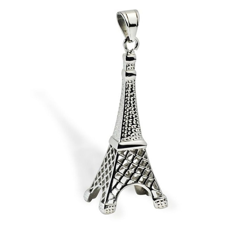 Přívěsek Eiffelova věž AP1328 chirurgická ocel