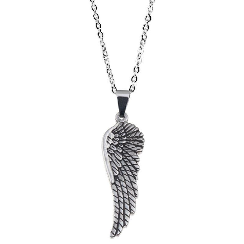 Řetízek s přívěskem Andělské křídlo AD0072 chirurgická ocel
