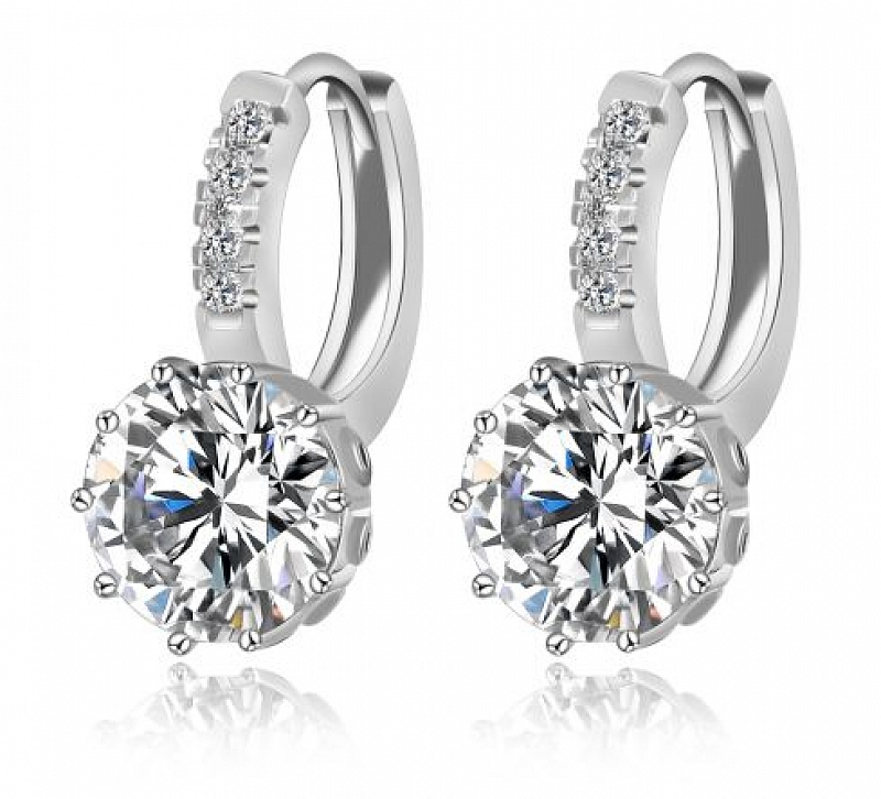 Náušnice Bella B0149 Zirconia Luxury