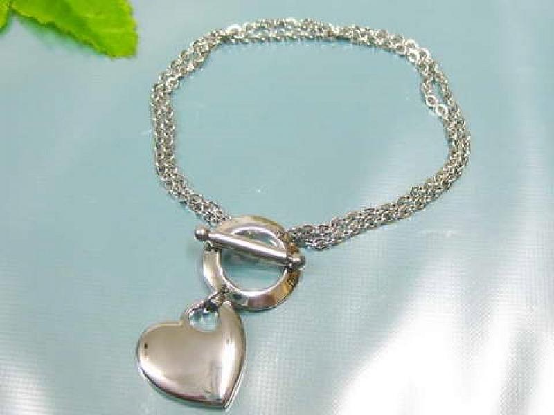 Náramek dámský Heart II AA1135 chirurgická ocel