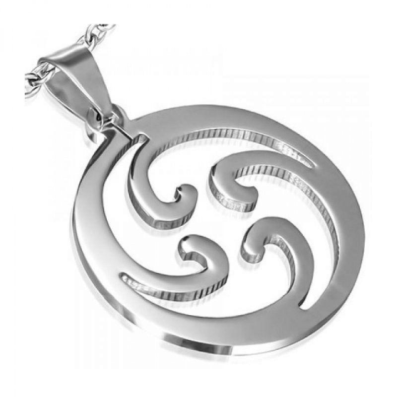 Přívěsek Spiral (N1721) chirurgická ocel