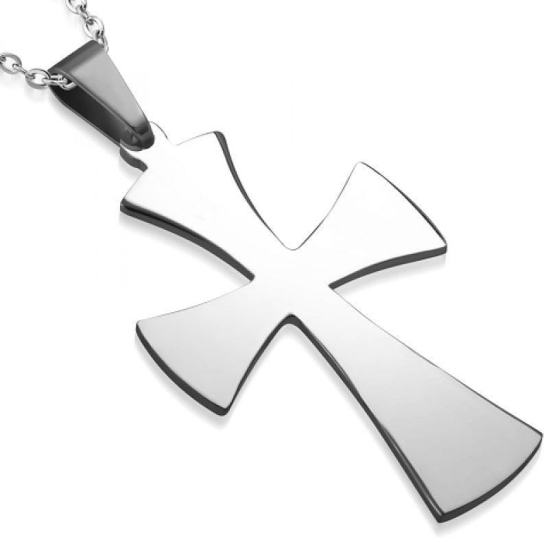 Přívěsek Kříž AP1048 chirurgická ocel