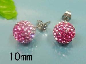 Nausnice Ball Pink (S845) chirurgicka ocel